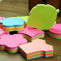 100pcs/set Colorful Memo Pad Heart <font><b>Stars</b></font>