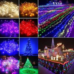 10m 20m 30m 50m 100m String Fairy Light In/Outdoor New Year