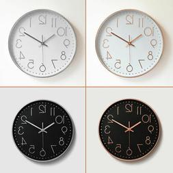 12 analog atomic wall clock quartz accurate