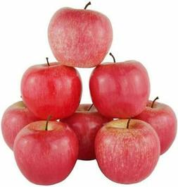 12 x artificial fruit faux RED APPLE fake food kitchen offic