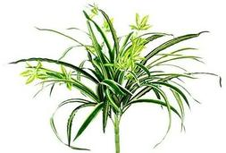"18"" Artificial Spider Plant Hanging Silk Flowers Decoration"