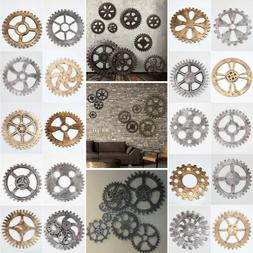 20 Style Retro Vintage Wooden Art Gear Industrial Home Wall