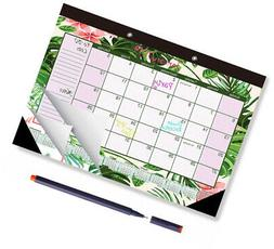 2019 Desk Or Wall Calendar Large Monthly Blotter Pad 11.5 X