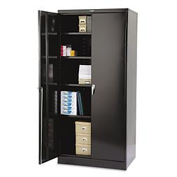 Tennsco 2470BK 36 by 24 by 78-Inch Deluxe Steel Storage Cabi