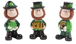Gift Boutique 3 St. Patricks Day Bobblehead Characters Lepre