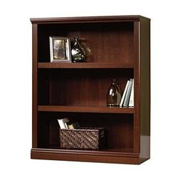 Pemberly Row 3 Shelf Bookcase in Select Cherry
