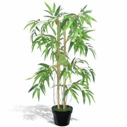 """31""""/35"""" Artificial Plant Indoor Outdoor Potted Bamboo Tree O"""