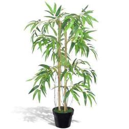 """35"""" Bamboo Plant with Planter Pot Artificial Green Plant Hom"""