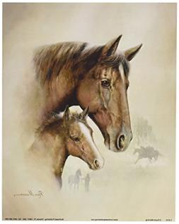 4 Horse Art Prints Mare Pictures Foal Posters Home Decor Bed