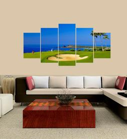 5 Pieces Canvas Wall Decor Painting for Home Living Room Pic
