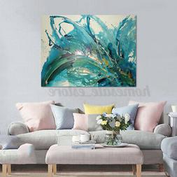 70*100cm Wall Art Abstract Stretched Canvas Home Office Deco