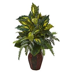 Nearly Natural 8168 Mixed Artificial Plant in Decorative Pla