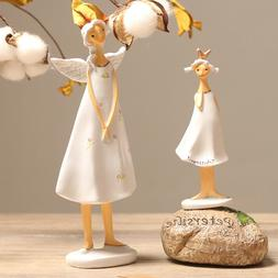 8in figurines 2pcs lucky angels girl s