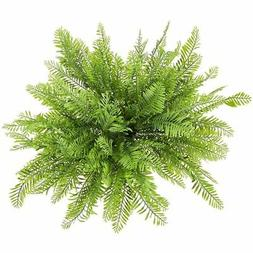 8x Artificial Fern Boston Bush Plants for Indoors Home Desk
