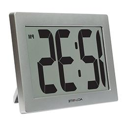 """AcuRite 75102 9.5"""" Large Digital Clock with 3.75"""" Digits and"""
