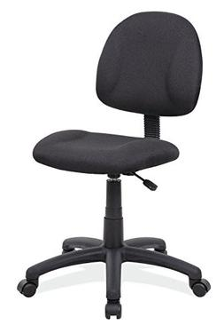 Boss Office Products B315-BK Perfect Posture Delux Fabric Ta