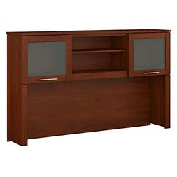 Bush Furniture Somerset 60W Hutch in Hansen Cherry