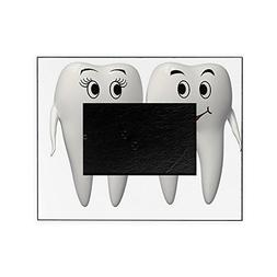 CafePress - Mr And Mrs Tooth - Decorative 8x10 Picture Frame