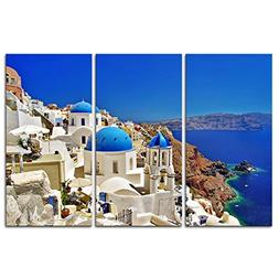 Canvas Print Wall Art Painting For Home Decor Oia Town On Sa