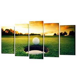 Kreative Arts - Golf Course Scenery Canvas Wall Art Contempo