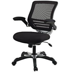 Modway Edge Mesh Back and Black Mesh Seat Office Chair With