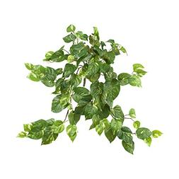 "Nearly Natural 6059-S3 30"" Pothos Hanging Bush"