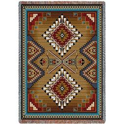 Pure Country Weavers - Brazos Geometric Woven Tapestry Throw