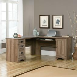 "Sauder 417586 Harbor View Computer Desk L: 66.14"" x W: 66.14"