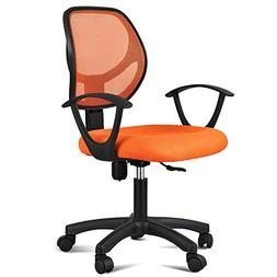 Topeakmart Adjustable Swivel Computer Desk Chair with Arms S