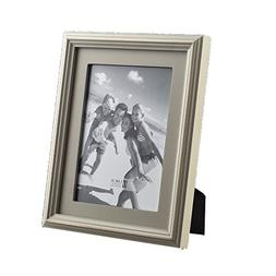 UMICAL 5x7 Picture Frame Wooden Matted Photo Frame Stand Ver