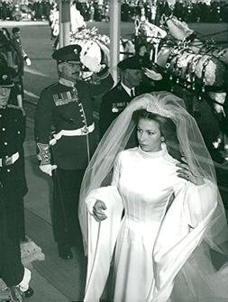 Vintage photo of The Princess Anne arrives at Westminster Ab
