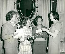 Vintage photo of westminster wives