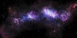 Wallmonkeys A Massive Nebula Covers a Huge Region of Space P