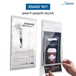 A4 Magnetic Wall Mounted Poster Display Menu <font><b>Sign</
