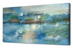 arteWOODS Abstract Wall Art Canvas Pictures Contemporary Can