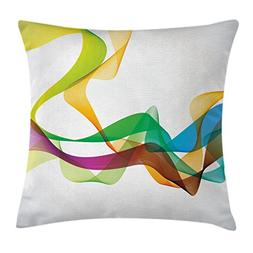 Ambesonne Abstract Decor Throw Pillow Cushion Cover, Artisti