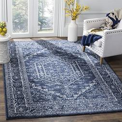 Safavieh Adirondack Collection ADR108N Navy and Ivory Orient