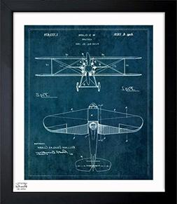 The Oliver Gal Artist Co. Airplane 1929' Vintage Framed Wall