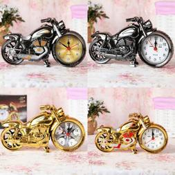 Alarm Clock Motorcycle Shape Home Boutique Office Creative H