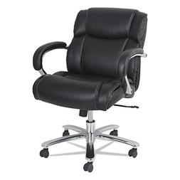 Alera ALEMS4619 Maxxis Series Big and Tall Leather Chair, Bl