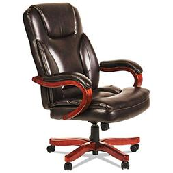 Alera ALETS4159W Transitional Series Executive Wood Chair, C