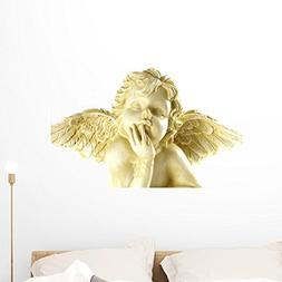 angel wall decal peel stick