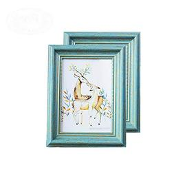 MUAMAX Antique Teal 5 x 7 Inch Picture Frames Green Photo Fr