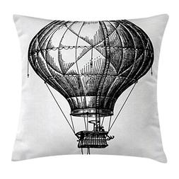 Ambesonne Apartment Decor Throw Pillow Cushion Cover, Two Wi