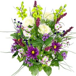 Artificial Dahlia, Morning Glory and Ranunculus and Blossom