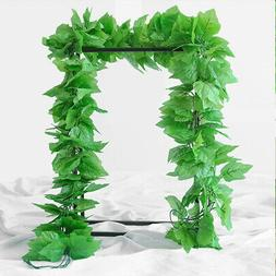 Artificial Leaves Vine Grape Trees Leaf for Wall Home Office