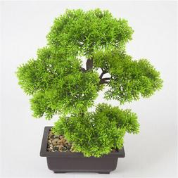Simulation Plant Bonsai Indoor Outdoor Flower Potted Home Of