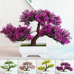 Fake Artificial Pot Plant Bonsai Potted Pine Tree Home/Offic