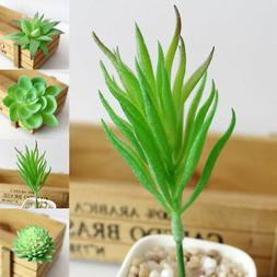 Artificial Plants Green Fake Leaves Foliage Bush Indoor Home