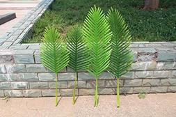 artificial plants palm tree leaves